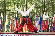 Ukrainian National Dance Hopak, Serhiy Tsyganok, Vladimir Nikitin, Maryland, Slavic Heritage Festival, St Mary's Assumption Eastern Rite Church, Joppa, MD, U.S. Army photo by Sgt. Kalie Jones