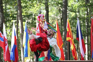 Ukrainian National Dance Hopak, Serhiy Tsyganok, Dinara Subaeva, Maryland, Slavic Heritage Festival, St Mary's Assumption Eastern Rite Church, Joppa, MD, U.S. Army photo by Sgt. Kalie Jones