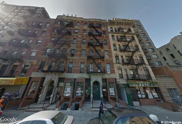 Google Maps, Lower East Side, New York City, Chinatown