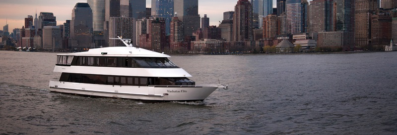 Yacht Manhattan Elite, Chelsea Piers, Pier 61
