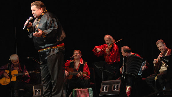Alexander Menshikov and ensemble Barynya