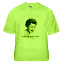 $17 dollars green T-Shirt with the photo of Shenya Shevchenko