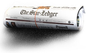 The Star-Ledger, NJ's largest local newspaper, USA