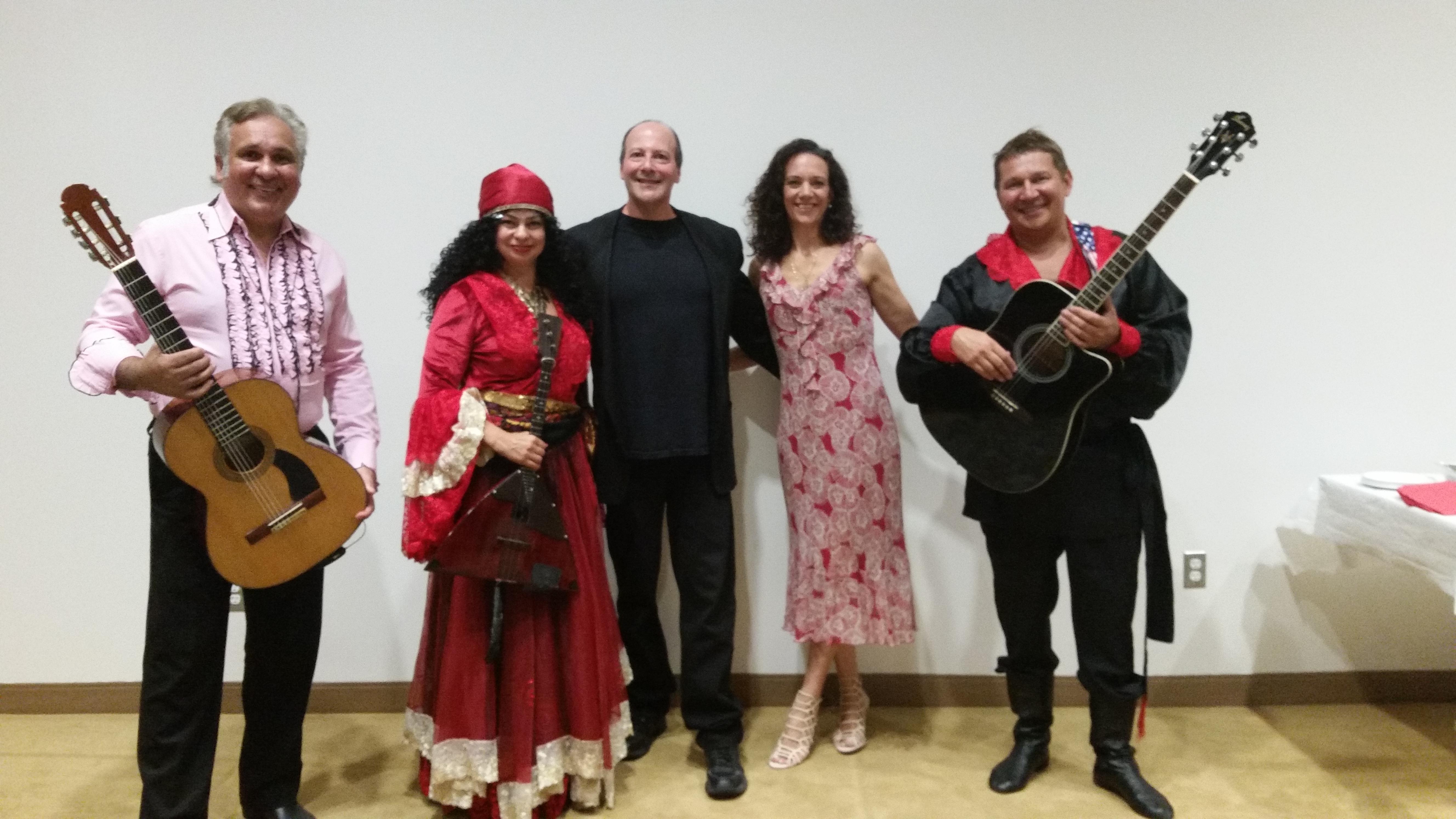 Short Hills, New Jersey  Gypsy, Roma, Tsyganski, Russian music