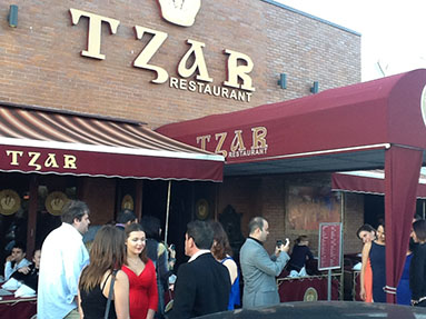 Restaurant Tzar, Brooklyn, New York, June 17th, 2012
