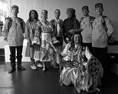 Tatar dancers, Thunderbird American Indian Dance Company, Brooklyn, New York, Brooklyn Music School, Elina, Sergey, Konstantin and Vladimir