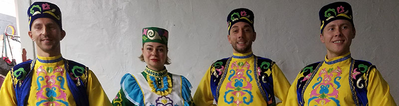 Tatar dancers, Brooklyn, New York