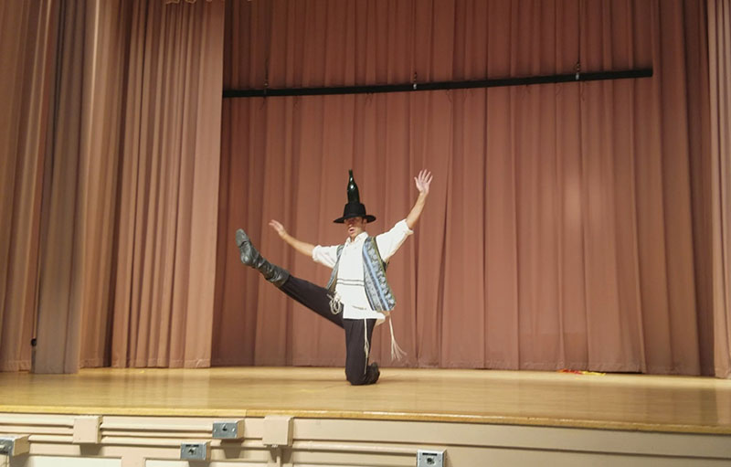 P.S. 186, Castlewood School, Queens, New York, Andrei Kisselev, Jewish Bottle Dance
