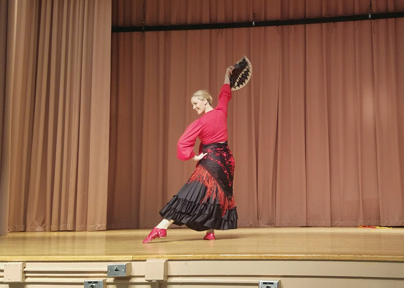 P.S. 186, Castlewood School, Queens, New York, Yana Volkova, Spanish Folk Dance Seguidilla