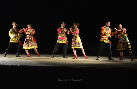 Barynya Russian Song, Music & Dance Ensemble, Russian dance Kalinka, Valentina Kvasova, Vladimir Nikitin, Dinara Subaeva, Serghiy Tshnok. Photos made by Donna Davis, Ms. Davis Photography