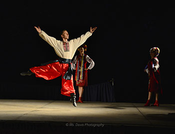 Barynya Song, Music & Dance Ensemble, Ukrainian National dance Hopak, Konstantin Tulinov, Dinara Subaeva, Simona Zhukovsky, Photos made by Donna Davis, Ms. Davis Photography