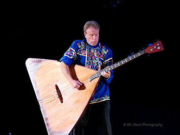 Barynya Song, Music & Dance Ensemble, Leonid Bruk and his contrabass-balalaika, Photos by Donna Davis, Ms. Davis Photography