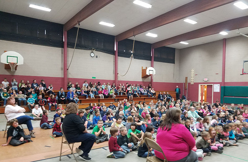 Riddle Elementary School, Riddle, Oregon