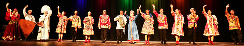 Russian Dance, Song and Music ensemble Barynya, Artistic Directo Mikhail Smirnov, Saturday, October 13, 2018, Freeport High School, Freeport Community Concert Association, FCCA, Freeport, Long Island, New York, photo credit Yuriy Balan, Valentina Kvasova, Alexander Rudoy, Simona Zhukovski, Serhiy Tsyganok, Irina Biryukova, Konstantin Tulinov, Olga Yeliseyeva, Olga Chpitalnaia, Ilia Pankratov, Vladimir Nikitin. Mikhail Smirnov, Elina Karokhina, Leonid Bruk, Irina Zagornova, Alisa Egorova
