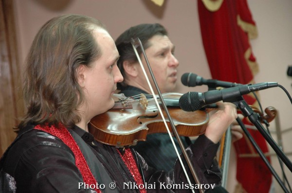 Russian Gypsy Guitar Violin Duo from New York