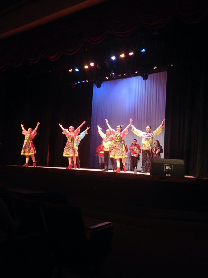 Ensemble Barynya, Teatro Ramon Ferde, University of Puerto Rico, Cayey, Puerto Rico