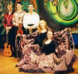 "Russian Gypsy Traditional Music and Dance band ""VIA ROMEN"", Boston, Massachusetts, USA"