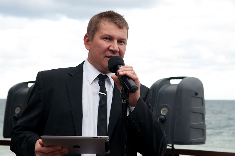 Master of Ceremonies, Tamada, Wedding Minister Mikhail Smirnov