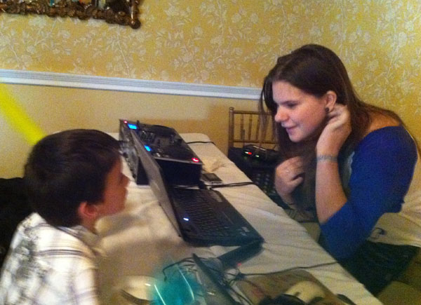 DJ Alisa, Kids' party, Long Island, New York, April 21, 2012, The Swan Club