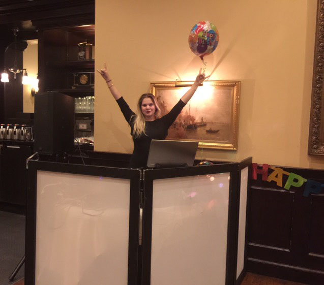DJ Alisa, Maggiano's Little Italy, Hackensack, New Jersey