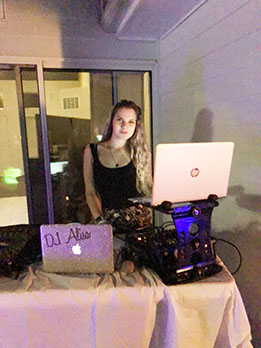 NY, Russian DJ Alisa, Private Party, Hampton Bays, New York, Long sland