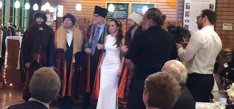 Russian Wedding in Pittsburgh, Pennsylvania, December 29 2018, Schenley Park Visitors Center