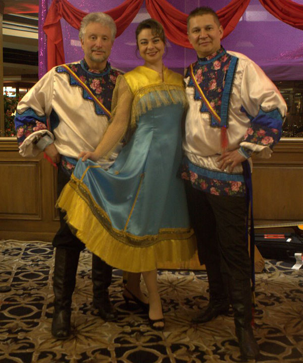 Barynya Russian dance music and song ensemble in Los Angelos, California