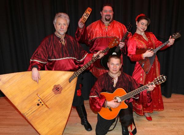Leonid Bruk, Alexander Menshikov, Elina Karokhina, Mikhail Smirnov, Los Angeles, California