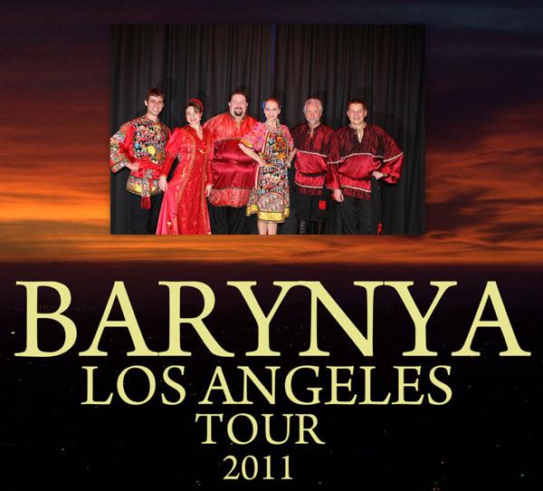 Barynya Russian dance music and song ensemble in Los Angelos, California