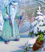 """Russian folk tale """"morozko"""""""