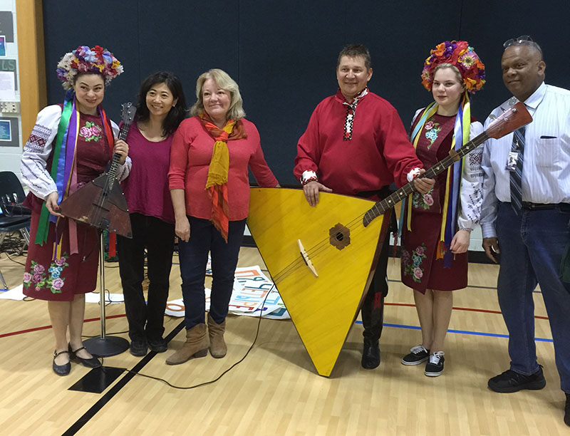 Mclean Va Russian Dance Song And Music Trio School Assembly In Virginia