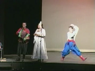 New York based Russian folk dance and music ensemble Barynya