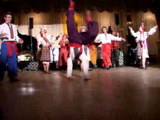 Dance performed by folk dance and music ensemble barynya from new york