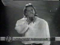 Russian folk singer Alexander Menshikov video clip