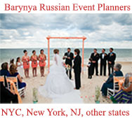 Barynya Russian Event Planners NYC, NY, NJ, PA, CT, and other states