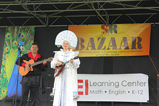 Mikhail Smirnov, Elina Karokhina, BAZAAR, International Festival, West Windsor Township, New Jersey, May 22, 2016