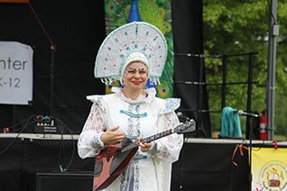 Elina Karokhina, BAZAAR, International Festival, West Windsor Township, New Jersey, May 22, 2016