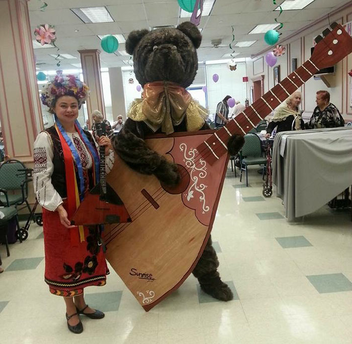 Elina Karokhina, Sunrise Adult Day Healthcare Center, Brooklyn, New York, December 25, 2015