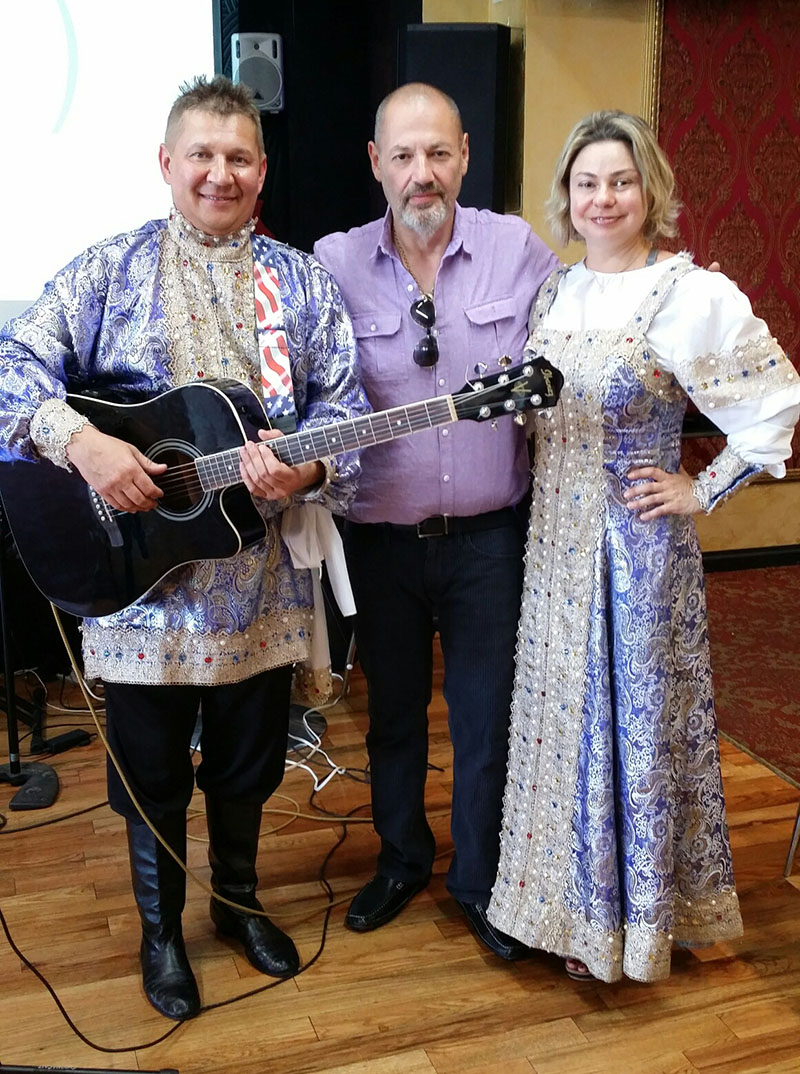 Elina Karokhina, Mikhail Smirnov, Garden of Joy Adult Care Center, Brooklyn, New York, June 9th, 2017