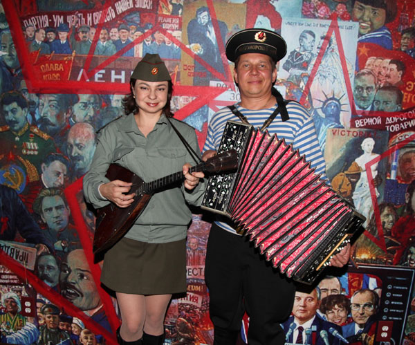 Red Army Russian Balalaika Duo from New York City