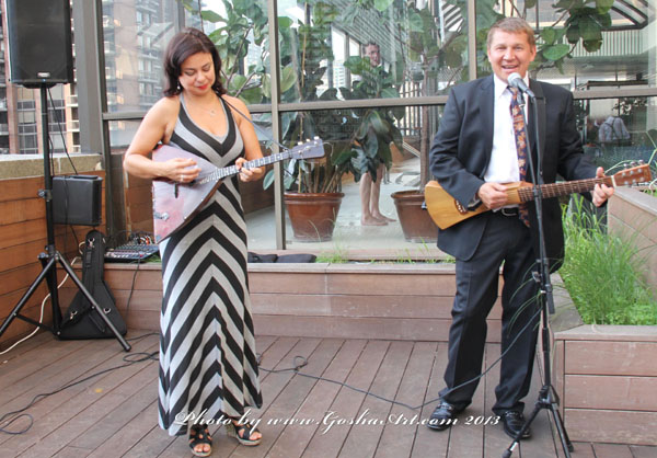 NYC Balalaika Duo. Photo by www.GoshaArt.com