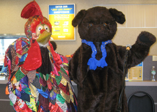 Ensemble Barynya Costume Characters and mascots