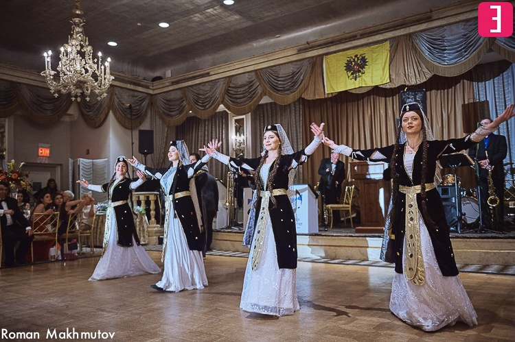 Georgian dancers, Russian Nobility Ball 2016, Hotel Pierre, New York City, Photo by Roman Makhmutov
