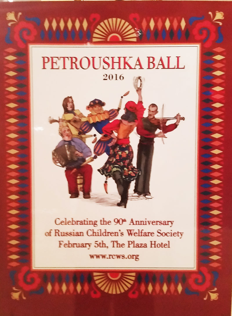 Petroushka Ball-2016, Plaza Hotel, New York City, USA