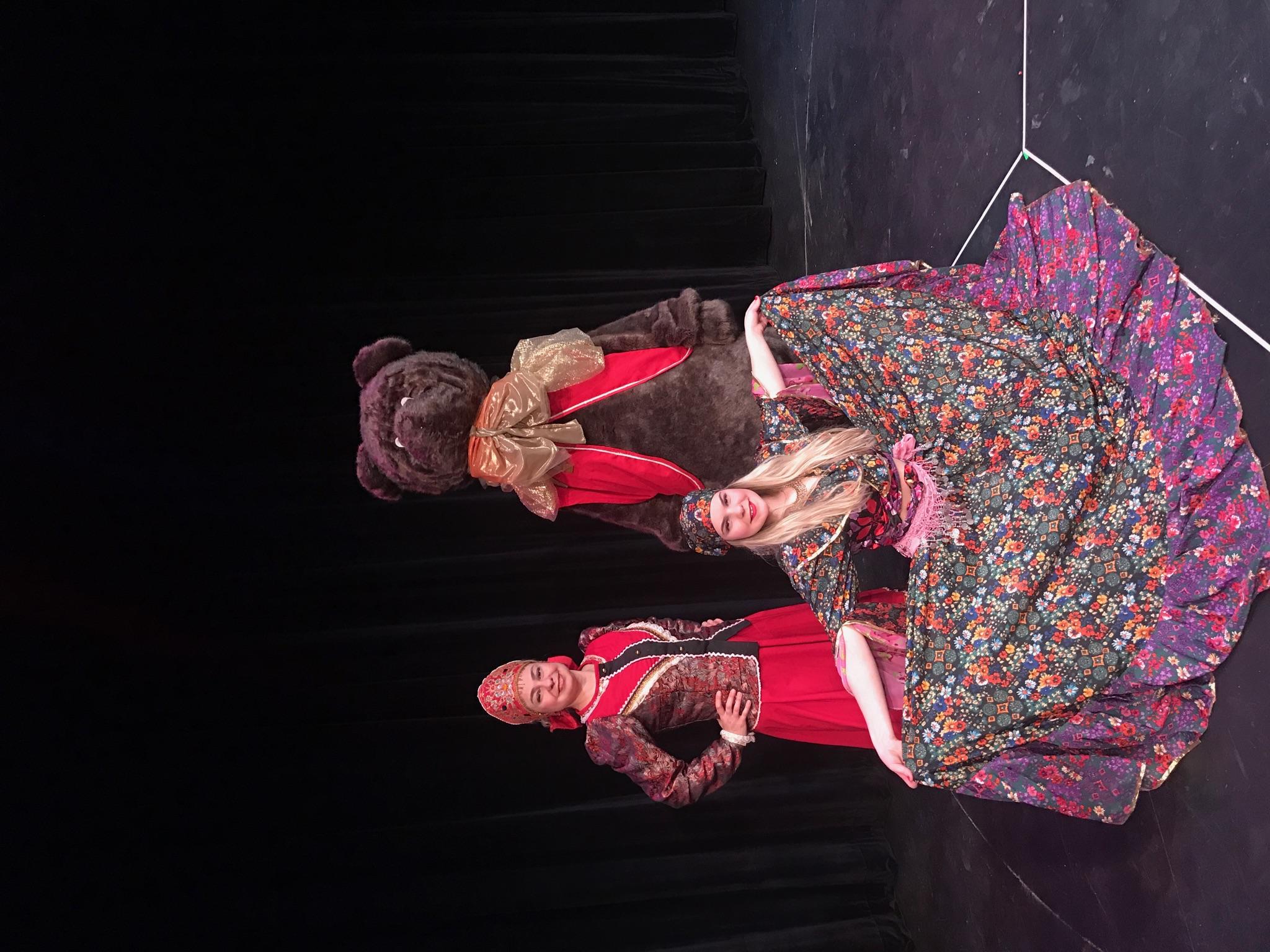 NJ Russian dance, song, and music trio  Garmoshka, Balalaika, dances