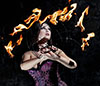 NJ Fire Dancer Aiisha
