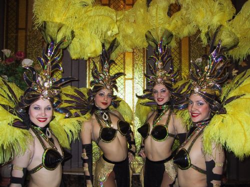 414.jpg Can Can Vegas Cabaret Moulin Rouge dancers New York