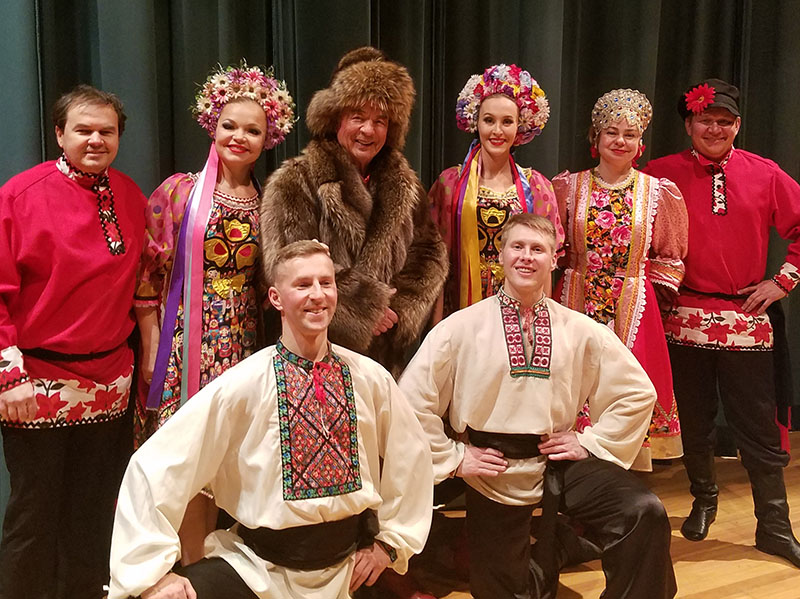 Alfonso Levy Performing Arts Center, Florida Gateway College, Lake City, Florida, Nikolai Massenkoff, Massenkoff Russian Folk Festival, Elina Karokhina, Mikhail Smirnov, Andrei Cheine, Valentina Kvasova, Dinara Subaeva, Konstantin Tulinov, Vladimir Nikitin