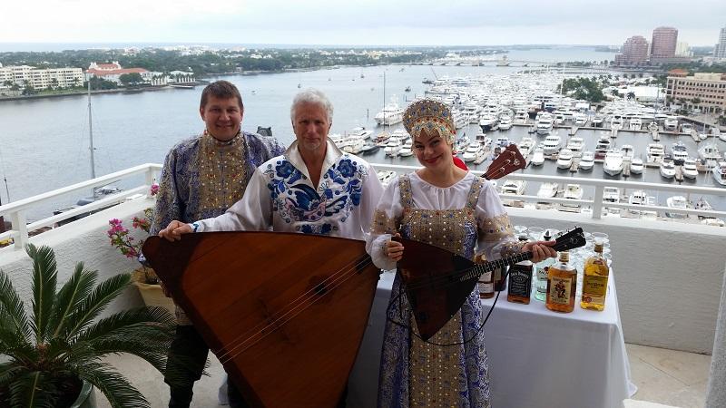 Mikhail Smirnov, Elina Karokhina, Leonid Bruk, West Palm Beach, Florida