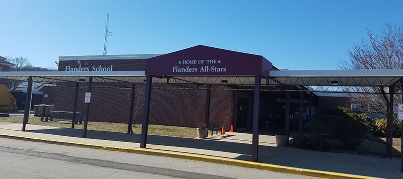 Flanders Elementary School, 167 Boston Post Rd, East Lyme, CT  06333, Connecticut